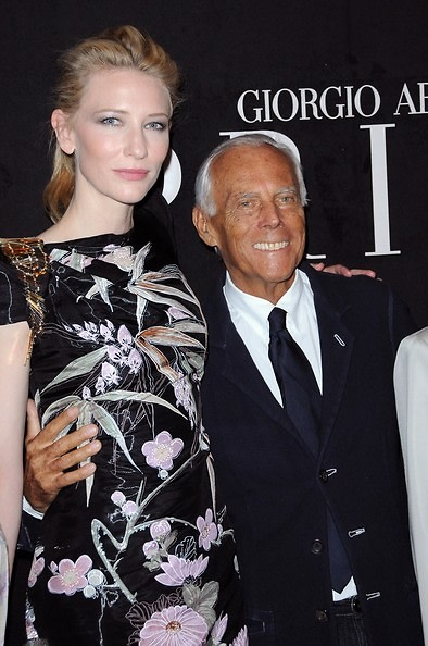 Cate Blanchett, Giorgio Armani