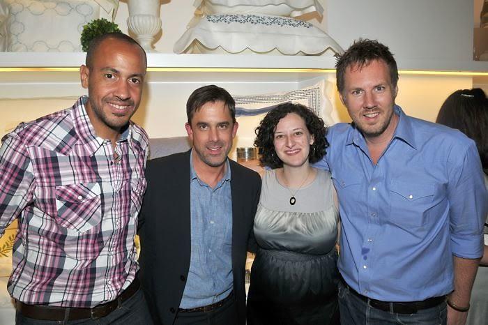 Kirk Hunter, Benjamin Bradley, Amy Bleier-Long, Brad Ford