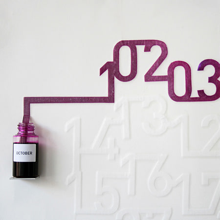 Ink Calendar Oscar Diaz