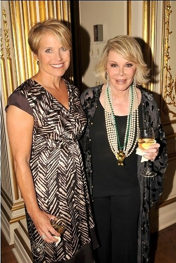 Katie Couric, Joan Rivers
