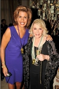Hoda Kotb, Joan Rivers