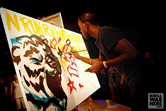 Lion painter