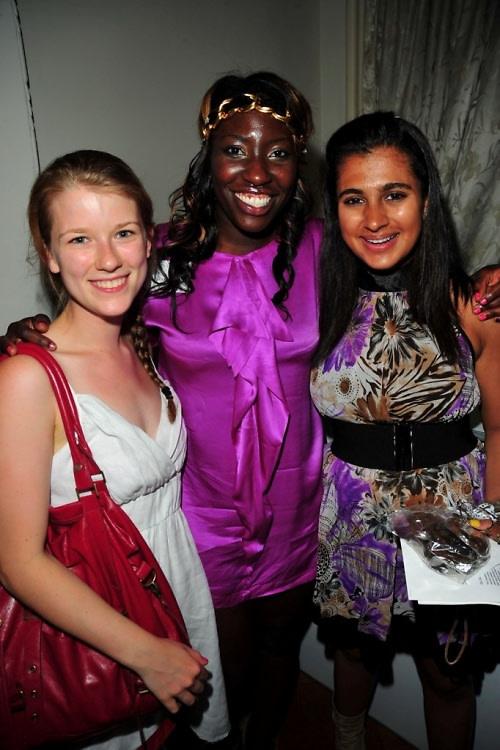 Elsteth Kelly, Becky Akinyode, Kiran Gandhi