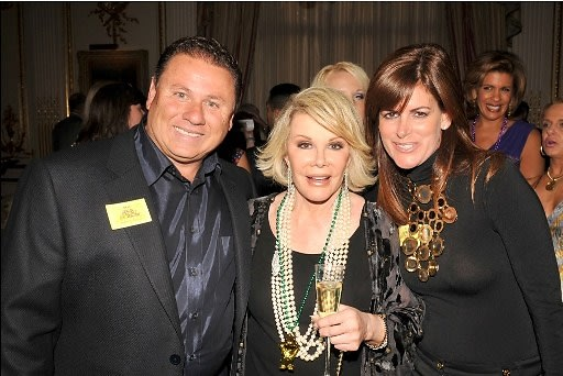 Robert Zarco, Joan Rivers, Veronica Zarco