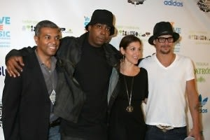 Paul Cothran, Parrish Smith, Julie Greenwald, Kid Rock