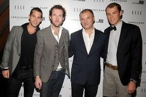 Mark Lynch, Steve Geerts, Olivier Cassegrain, Robert Fowler