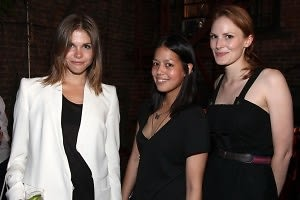 Emily Weiss, Vanessa Lawrence, Hallie Chrisman