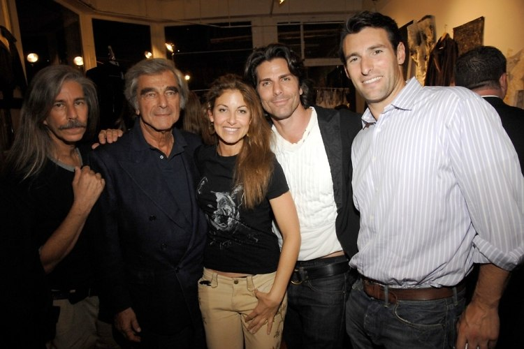 ?, Jerry Lauren, Dylan Lauren, Greg Lauren, Paul Arrouet