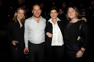 Maureen Bray, Ken Tyburski, Cecile Panzairi, Lauren Kelly