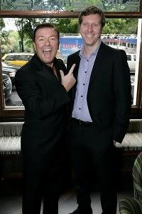 Ricky Gervais, Matthew Robinson