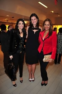 Kimberly Guilfoyle Villency, Lydia Fenet, Anisha Lakhani