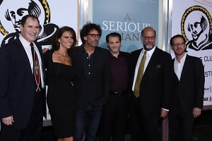 Richard Kind, Amy Landecker, Joel Cohen, Michael Stuhlbarg, Fred Melamed, Ethan Cohen