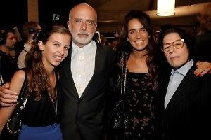 Chiara Clemente, Francesco Clemente, Coco Brandolini, Fran Leibowitz