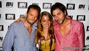 Danny Bensi, Michelle Edgar, Diego Garcia