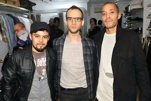 Esteban Carrasco, Noah Levy, Bajun Riddick