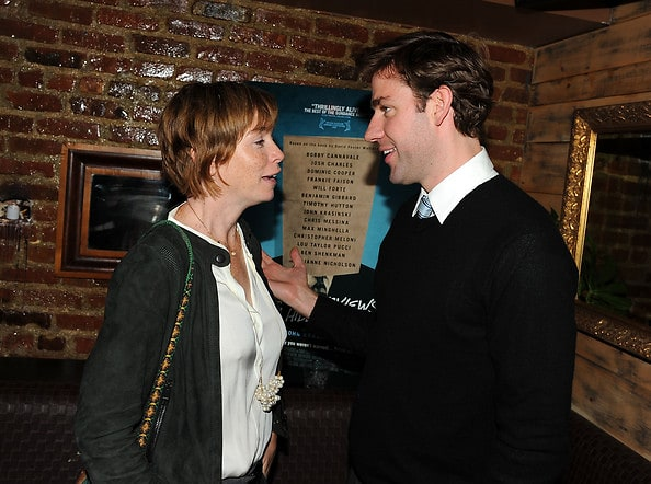 Julianne Nicholson, actor/director John Krasinski
