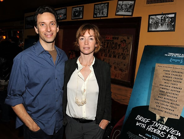 Ben Shenkman and Julianne Nicholson