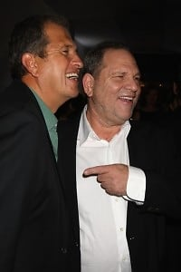 Mario Testino, Harvey Weinstein