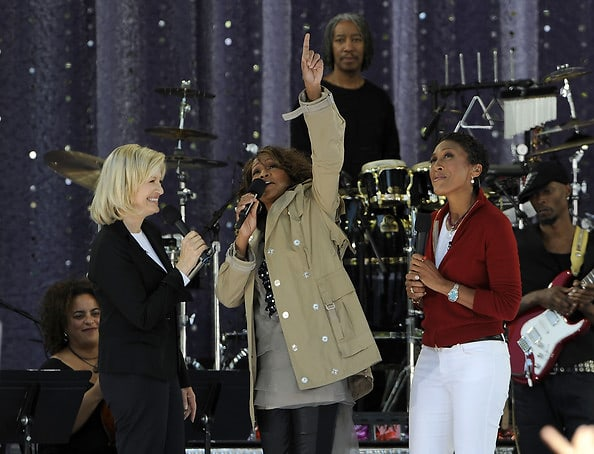 Diane Sawyer, Whitney Houston, Robin Roberts