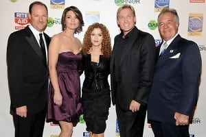 David Greenberg, Alana de la Garza, Bernadette Peters, Sam Champion, Tony Sirico
