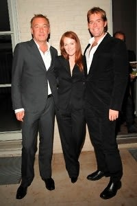 Hunter Hill, Julianne Moore, Perry Moore