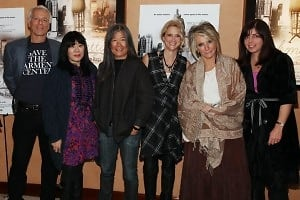 Marc Levin, Anna Sui, Yeohlee Teng, Nanette Lepore, Sheila Nevins, Nancy Abraham
