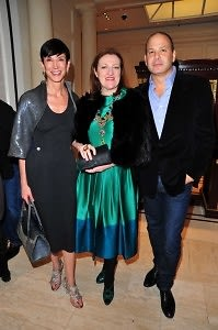Amy Fine Collins, Glenda Bailey, Reed Krakoff