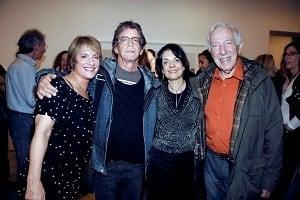 Patti LuPone, Lou Reed, Cora Cahan, Bernard Gersten