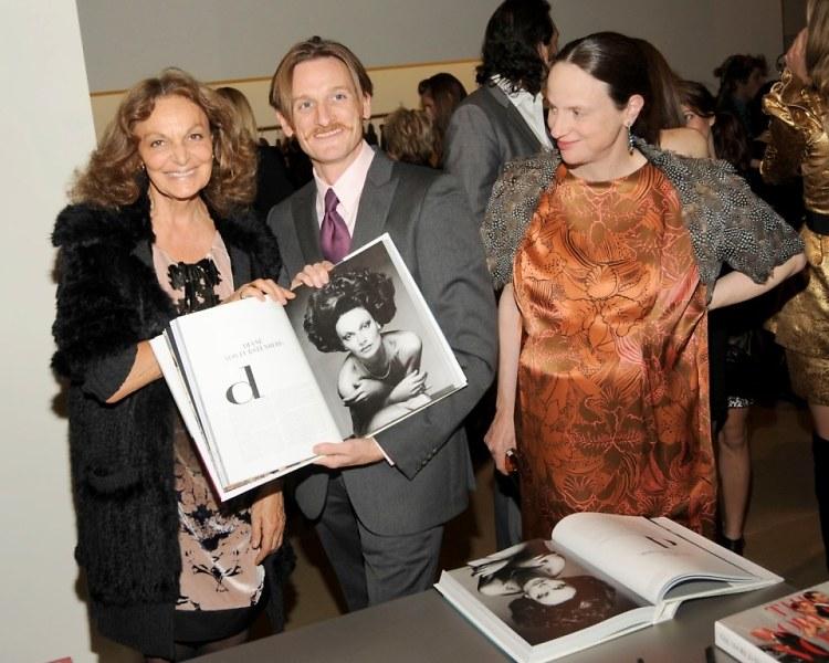 Diane von Furstenberg, Hamish Bowles, Alexandra Kotur