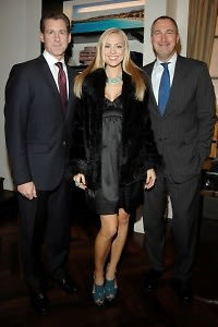 Bob Green, Kristen Dalton (Miss USA), Edward Menicheschi