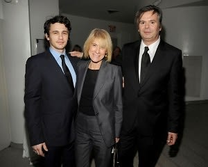 James Franco, Linda Yablonsky, Rob Pruitt