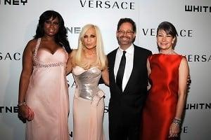 Jennifer Hudson, Donatella Versace, Adam Weinberg, Brooke Garber Neidlich