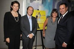 Martine Assouline, Prosper Assouline, Karin Sadove, Steve Sadove