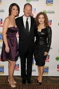 Alana de la Garza, David Greenberg, Bernadette Peters