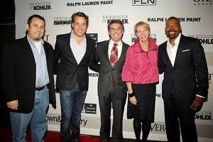 Mark Freeman, Thom Filicia, Richard Mishaan, Cathie Black, Lloyd Boston