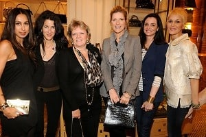 Amis Garrigue, Amanda Ross, Mary Gleason, Lucy Sykes. Annie Churchill, Carrie Cloud