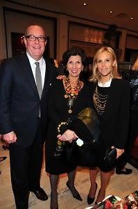 Ron Frasch, Pamela Fiori, Tory Burch