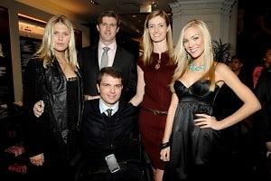 Alexandra Richards, Matthew Reeve, Francesco Clark, Alexandra Reeve Givens, Kristen Dalton (Miss USA)