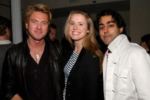 Alex Ott, Anne Huntington, Manish Vora