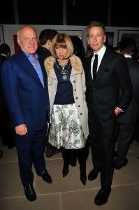 Barry Diller, Anna Wintour, Calvin Klein