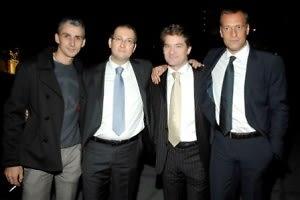 Andream Minucco, Gianluca Galli, Antonio Benin, Alessandro Verisco