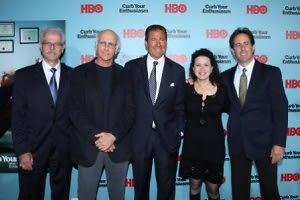 Bill Nelson, Larry David, Richard Plepler, Susie Essman, Jerry Seinfeld