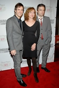 Mark-Paul Gosselaar, Julie White, Jonathan Kirk