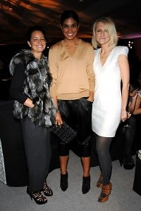 AnnaMaria Wilson, Rachel Roy, Laura Brown