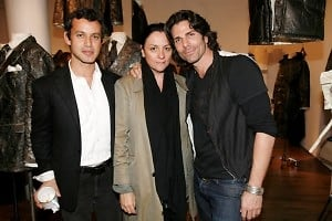 Andrew Lauren, Kelly Cutrone, Greg Lauren