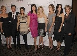 Jillian Dempsey, Patrick Dempsey, Fergie, Andrea Jung of Avon, Reese Witherspoon, Lauren Conrad, Courteney Cox, Suze Orman