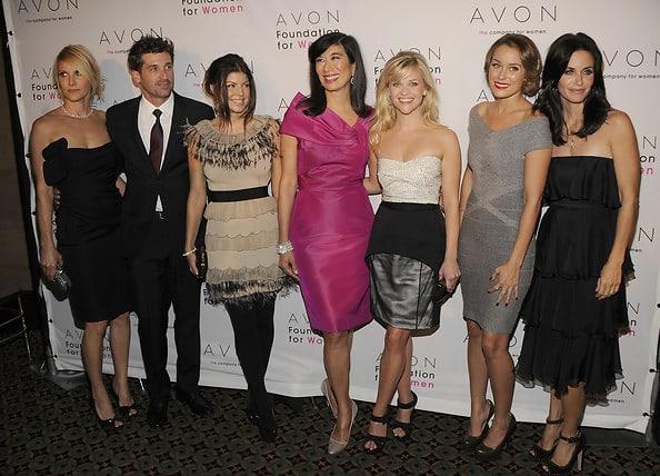 Jillian Dempsey, Patrick Dempsey, Fergie, Andrea Jung, Reese Witherspoon, Lauren Conrad, Courteney Cox