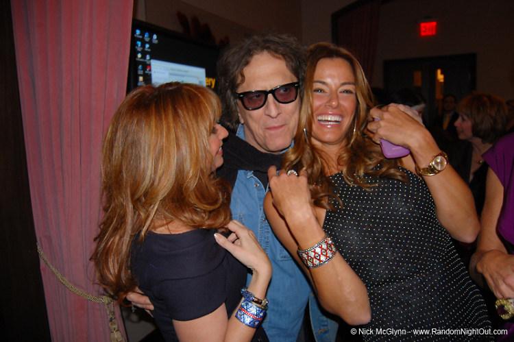 Jill Zarin, Mick Rock, Kelly Bensimon