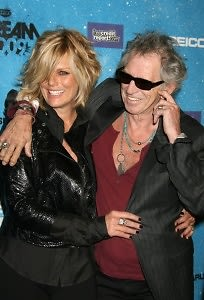 Patti Hansen, Keith Richards