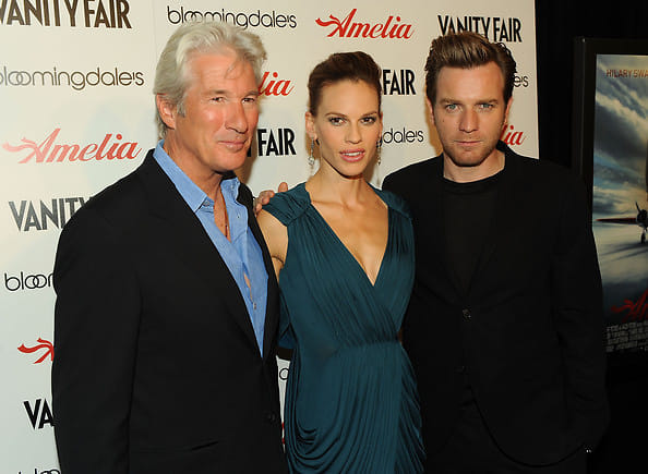 Richard Gere, Hilary Swank, Ewan McGregor